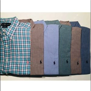 Super lot of 6 polo Ralph Lauren BLAKE shirts L